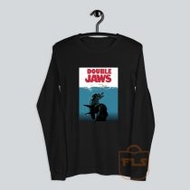 Double Jaws Parody Long-Sleeve