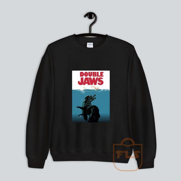 Double Jaws Parody Sweatshirt