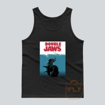 Double Jaws Parody Tank Top