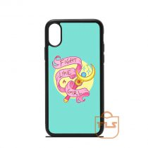 Fight Like Girl iPhone Case