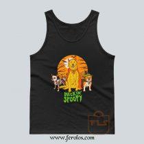 Heckin Spoopy Halloween Tank Top