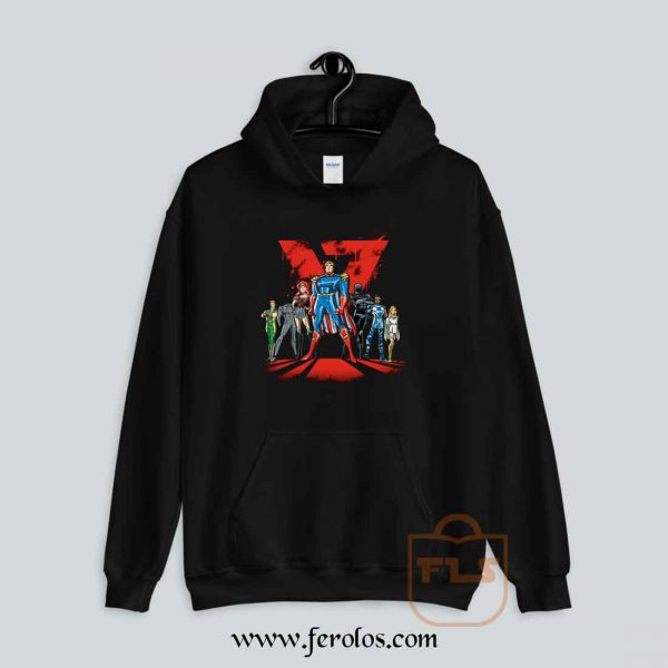 Justice League Cartoon Hoodie
