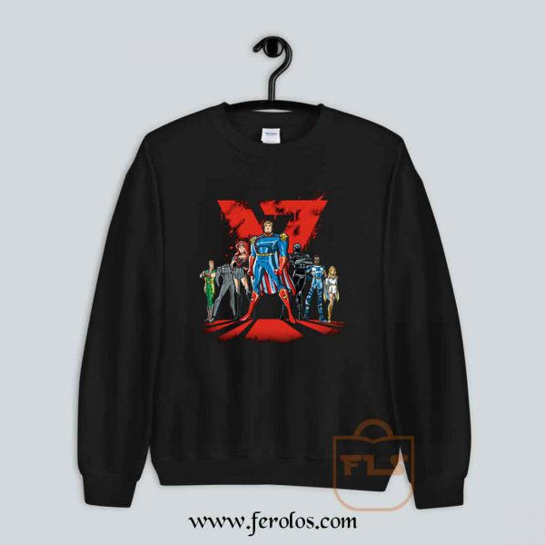 Justice League Cartoon Sweatshirt