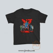 Justice League Cartoon Youth T Shirt