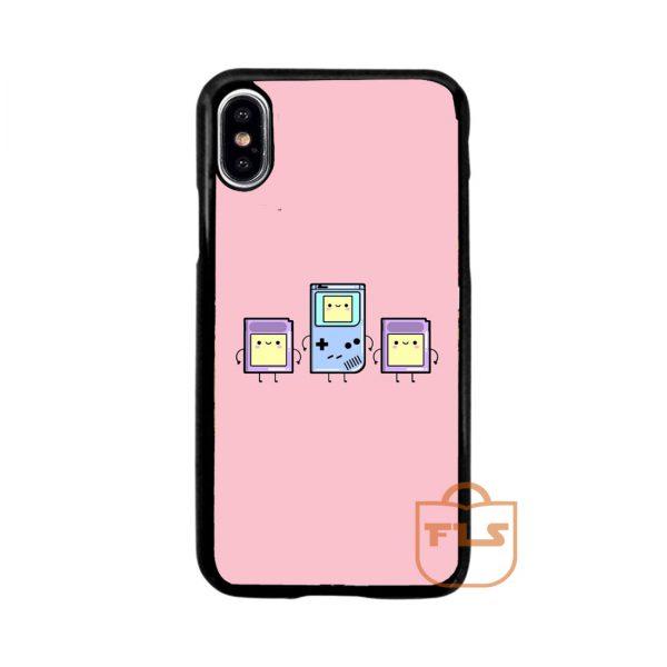 Kawaii Gameboy Pink iPhone Case