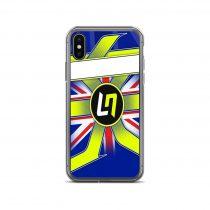 Lando Norris Silverstone iPhone Case