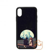 Living on Moon iPhone Case