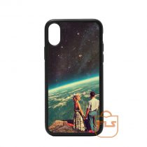 Love on Moon iPhone Case