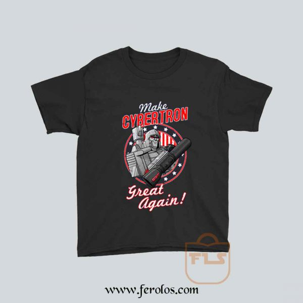 MAKE CYBERTRON GREAT AGAIN Parody Youth T Shirt