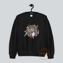Marilyn Monroe Bio Graffiti Sweatshirt