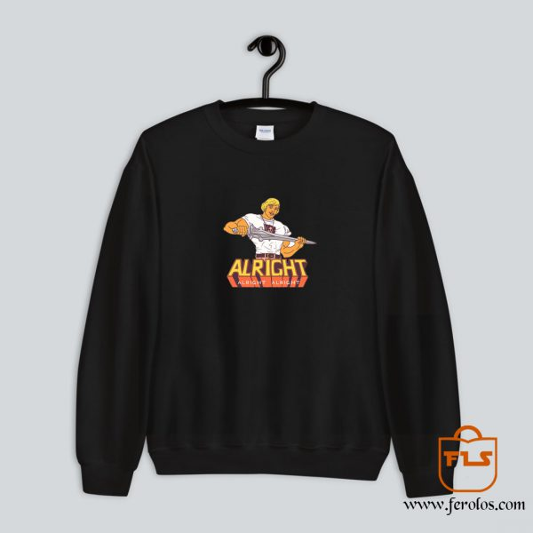 Master Of Chill Alright Sweatshirt