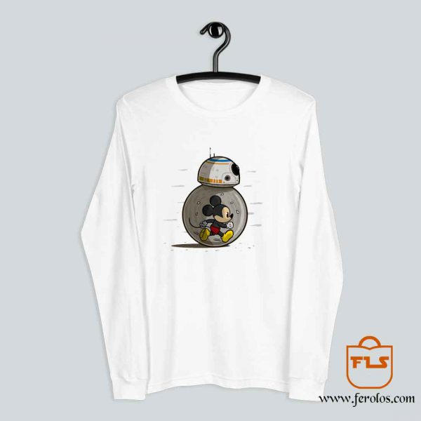 Mickey Mouse BB8 Long Sleeve