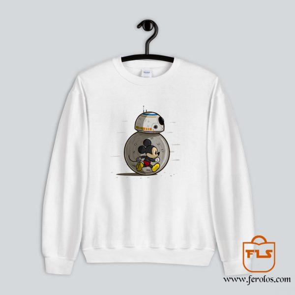 Mickey Mouse BB8 Sweatshirt