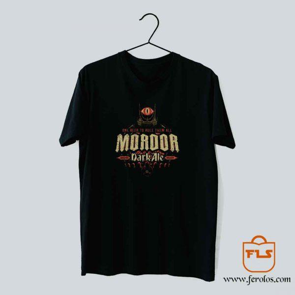 Mordor Dark Ale T Shirt