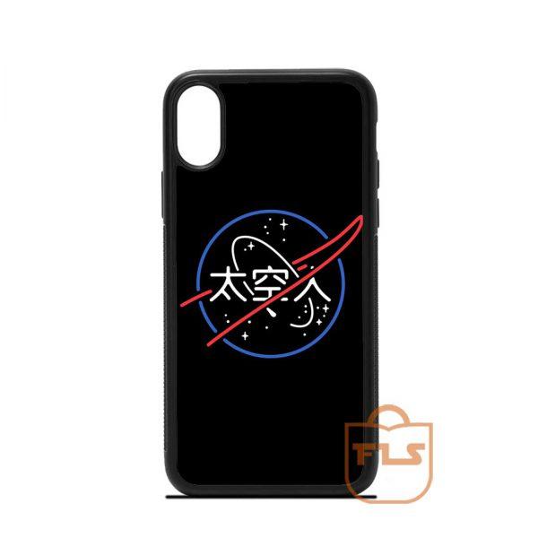 NASA Aesthetic Japanese iPhone Case