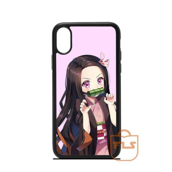 Nezuko Demon Slayer iPhone Case