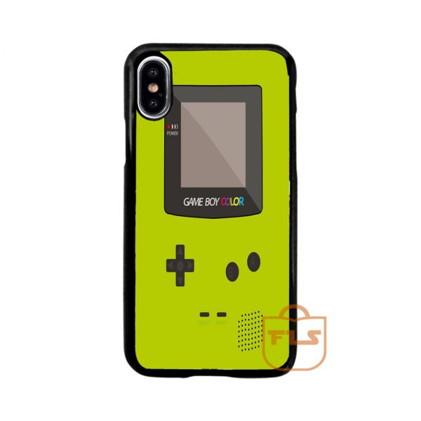 Nintendo Gameboy Lime iPhone Case