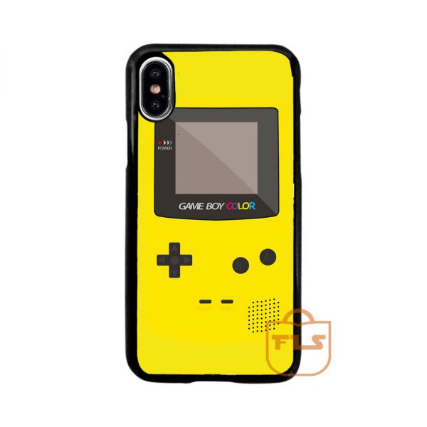 Nintendo Gameboy Yellow iPhone Case