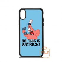 No This Is Patrick iPhone Case