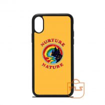 Nurture Nature Retro iPhone Case