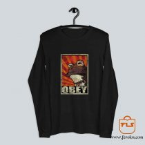 Obey The Hypnotoad Long Sleeve