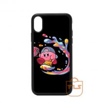 Painting Kirby iPhone Case