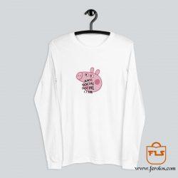 Peppa Pig Anti Social Social Club Long-Sleeve