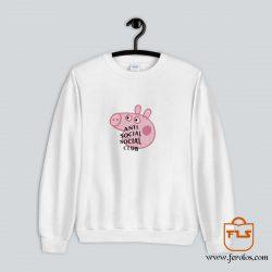 Peppa Pig Anti Social Social Club Sweatshirt