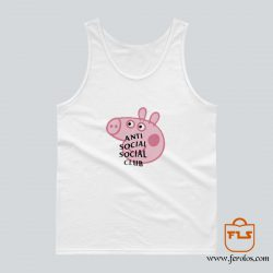 Peppa Pig Anti Social Social Club Tank Top