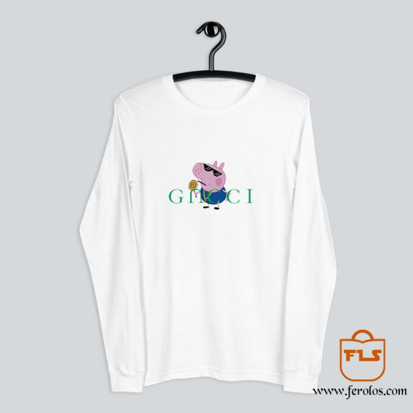 Peppa Pig Gacci Gangster Long-Sleeve