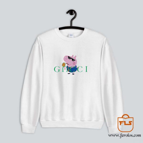 Peppa Pig Gacci Gangster Sweatshirt