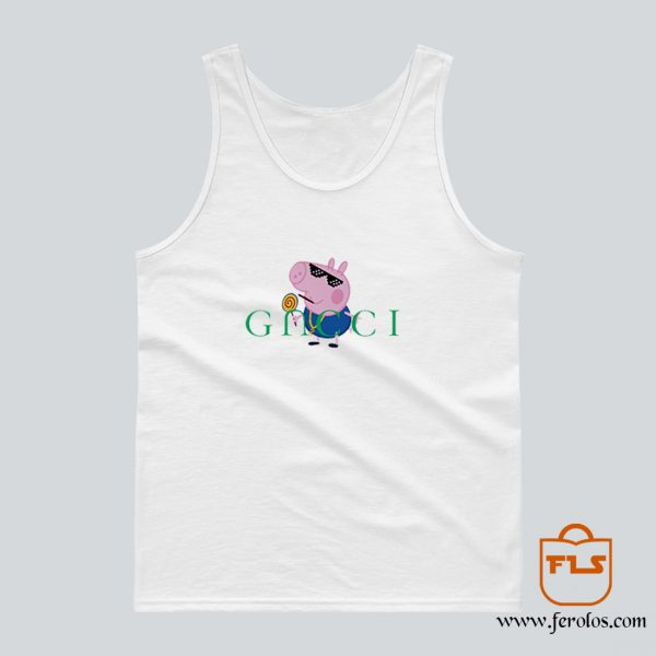 Peppa Pig Gacci Gangster Tank Top