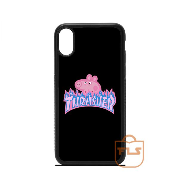 Peppa Pig Skate iPhone Case