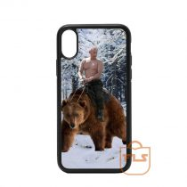 Putin on Bear iPhone Case