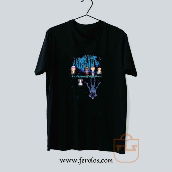 STRANGER PIXEL Demogorgon T Shirt