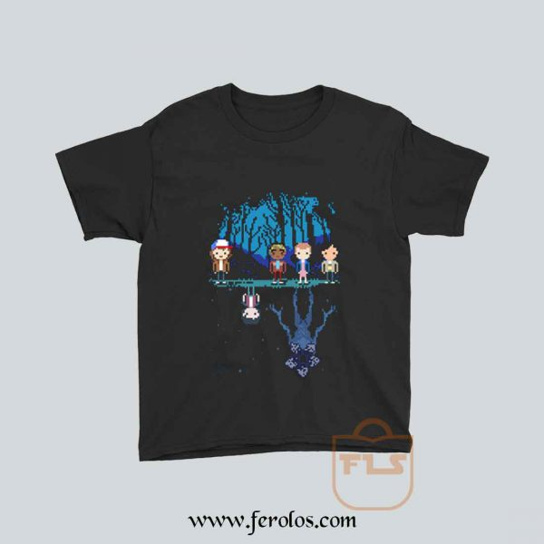 STRANGER PIXEL Demogorgon Youth T Shirt