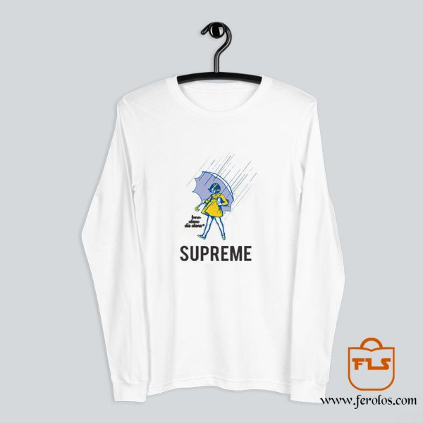 SUPREME Morton Salt Girl Rain Long-Sleeve