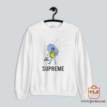 SUPREME Morton Salt Girl Rain Sweatshirt