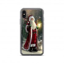Santa Claus Christmas Traveler iPhone Case