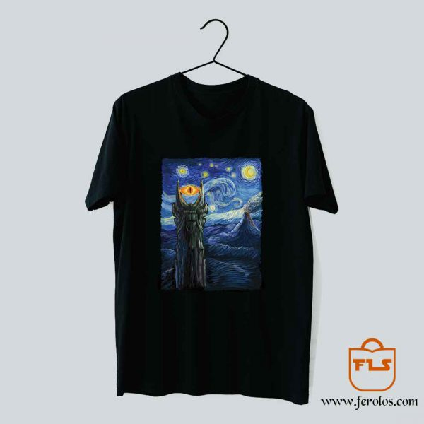 Sauron Van Gogh T Shirt