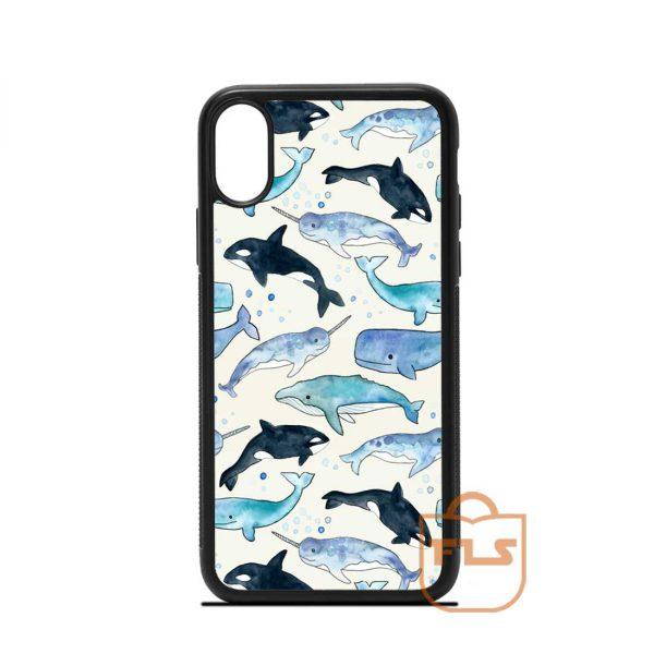 Sea Mamals iPhone Case