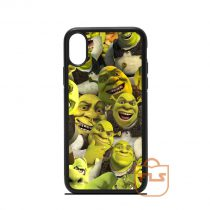 Shrek Collage iPhone Case