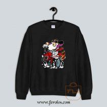 Snoopy Race Car Sweatshirt