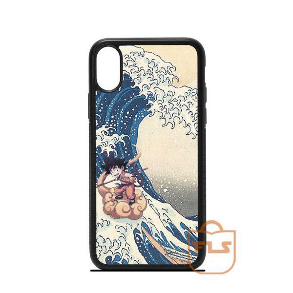 SonGoku Great Wave Kanagawa iPhone Case