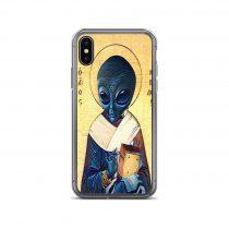 St Alien iPhone Case