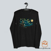 Starry Night Robot Long Sleeve