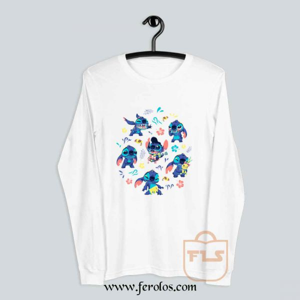 Stitch Collage Long Sleeve