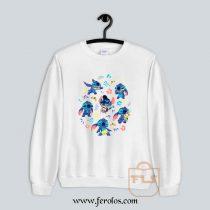 Stitch Collage Sweatshirt