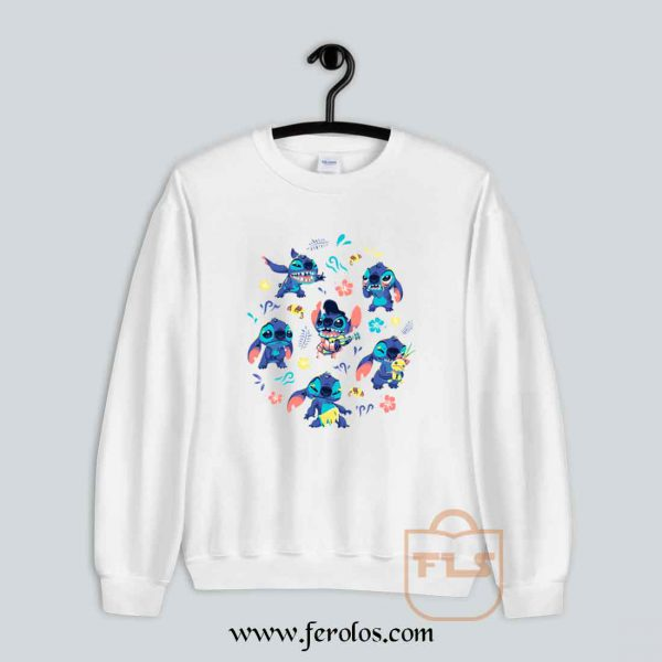 Stitch Collage Sweatshirt