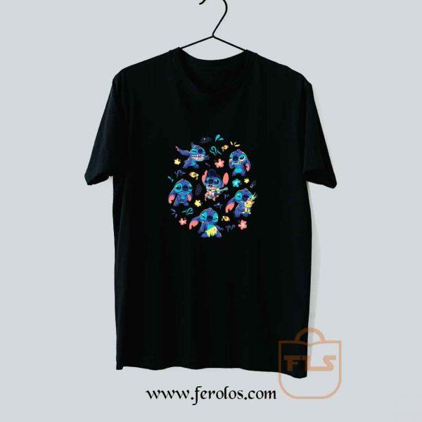 Stitch Collage T Shirt